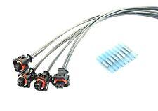 4x Stecker Silikon Kabelsatz Einspritzdüse Injektor BMW Opel Fiat Alfa CDTi JTDM