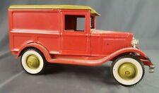 Buddy L Pressed Steel Ford A Pie Wagon Toy 1960s Japan Very Nice Collectible