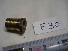 raccord terminus laiton tête hexagonale filetage 10,85 mm x1,33 mm (réf F30 )