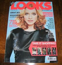 LOOKS Magazine MADONNA cover October 2000 UK Mag Tom Cruise Angelina Jolie Gavin