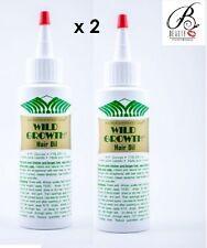 2 x WILD GROWTH HAIR OIL A Complete Hair Growth Formula 4 oz