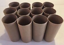 LOT of 12 TOILET PAPER ROLLS empty used clean cardboard tubes crafts art