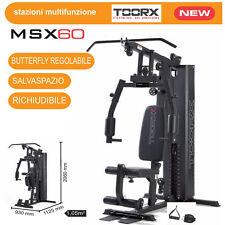 Toorx MSX-60 POLIFUNZIONALE MULTISTAZIONE PALESTRA - SalvaSpazio + OMAGGIO !!!