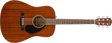 Fender CD-60S MAH Solid Top Mahogany Acoustic Guitar with 6 Strings - (0970110022)