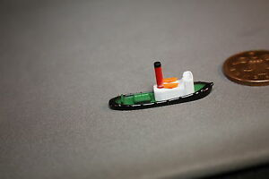 Triang Minic Ships Harbour item Steam Tugs Red