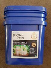 Freeze Dried Full Cream Milk (25 year shelf life...350 servings)