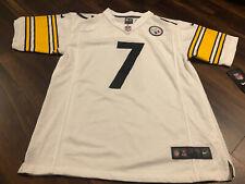 Nike Pittsburgh Steelers Ben Roethlisberger Youth Jersey Size Large #7 White
