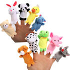 Finger Puppets Set Cute Animal Style Soft Plush Animal Baby Story Time Toys