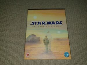 Star Wars The Complete Saga Blu- Ray Box Set, 9-Discs Blu Ray