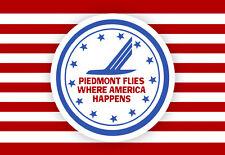 """Piedmont Airlines 1976 Logo Fridge Magnet 3.25""""x2.25"""" Collectibles (LM14045)"""