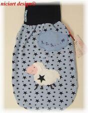 Niciart ♥ pucksack ♥ bebé saco de dormir ♥ contar ovejas;-) ♥ baumwolljersey ♥ estrellas