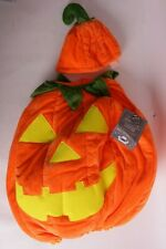 NWT Pottery Barn Kids Glow in the Dark Pumpkin Halloween costume 3T