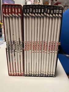 DVD serie LA PIOVRA 10 stagioni complete 25 dvd