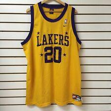 Los Angeles Lakers Gary Payton Nike Basketball Jersey Size 3xl