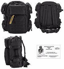 Tactical Barrage Backpack /Bug Out Bag / Military/Survival Gear - EXPLORER - BLK