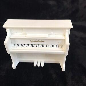 Sylvanian Families Piano White Dollhouse Furniture Home Decor Music Epoch Calico