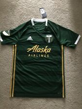 Adidas Portland Timbers Authentic Home Jersey Men's Green Gold MLS S M XL