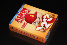 Alvin and the Chipmunks 1-3 Collector BOX SET (3-Disc Blu-ray,2014)