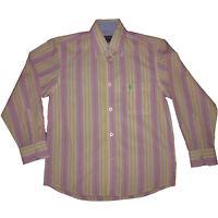 Camisas  niño de Prinston , rosa ,talla 10