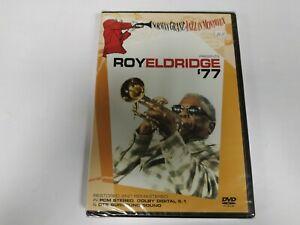 JJ11- ROY ELDRIDGE 77 JAZZ IN MONTREAUX  DVD NUEVO PRECINTADO LIQUIDACIÓN!!