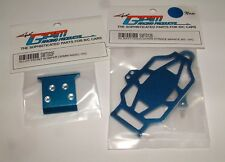 TEAM LOSI MINI-T GPM  BLUE ALUMINUM LOT F BUMPER BATT HOLD DOWN SMT003F SMT0126