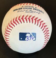 Albert Pujols 3000th Hit Game Used Marked Baseball Trout MLB HOLO Trout Ohtani