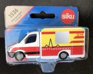 Siku 1536 Mercedes-Benz Ambulance (Rettungswagen) New