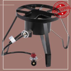 Single Burner Liquid Propane Outdoor Patio Stove / Range - 110,000 BTU