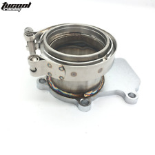 3 inch Downpipe Turbo Flange V-band Kit Fits Cummins Holset WH1C HX35 HX35W HX40