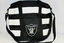 Oakland Raiders NFL  Insulated Tote Black/White Team Sport