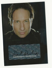 David Duchovny as Fox Mulder The X Files I Want To Believe Autograph Card A1