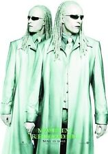 MATRIX RELOADED THE TWINS POSTER   2003 Movie HTF OOP