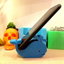 Whale Mobile iPad Phone Stand - Sea Life - Desk Accessory -  Gadget - Kawaii