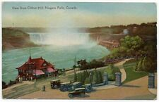 Vintage Postcard View of Niagara Falls Canada From Clifton Hill Ontario