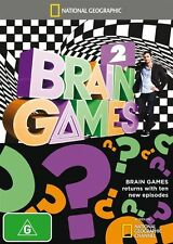 National Geographic: Brain Games 2 NEW R4 DVD