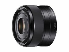 Fixed/Prime f/1.8 Lenses for Sony Cameras
