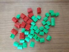 monopoly board Game Replacement parts houses hotels g128