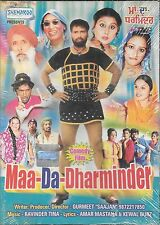 MAA-DA-DHARMINDER - NEW BOLLYWOOD PUNJABI DVD - FREE UK POST