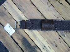 WESTERN BACK CINCH TOOLED LEATHER HORSE GIRTH REAR RANCH OFF FLANK CINCHES TACK