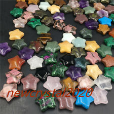 A+ wholesale A lot of Natural Quartz Crystal star carved Crystal pendant Healing
