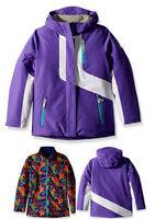 Spyder Girls Reckon 3-In-1 Jacket, Ski Snowboarding Jacket, Size L (14/16 Kids)