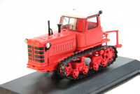 DT-75 Tracked Agricultural Tractor Farm Vehicle 1980 Year 1:43 Scale HACHETTE