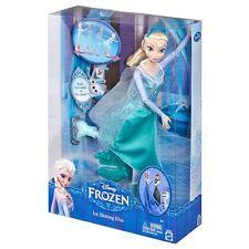 "DISNEY FROZEN ICE SKATING ELSA 12"" ELSA DOLL MATTEL CMT84 NEW IN BOX!"