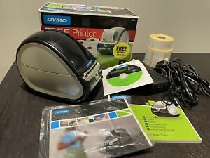 Dymo LabelWriter 450 Label Printer with 3 Rolls of Labels, Manuals, Cables & Box