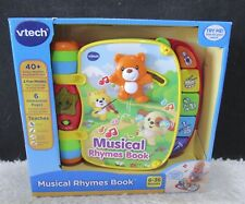VTech Musical Rhymes Book, 40+ Songs, Melodies, Sounds & Phrases 6-36 Mos, NIB