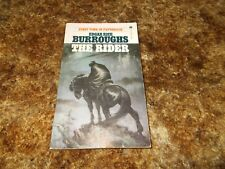 Edgar Rice Burroughs~The Rider~First Published In 1937~$1.50 Cover