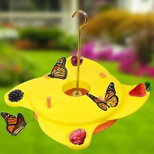 2 X Garden Butterfly Insect Nectar Feeder Feeding Station Blooming Flowers