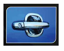 FOR TOYOTA FORTUNER 2004-2012 FOR NEW CHROME 4DR DOOR HANDLE BOWL INSERTS V.3
