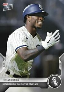 2021 Topps Now #654 Tim Anderson Field of Dreams Walk-Off Home Run 08