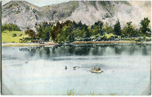 AK DEUTSCH-SÜDWEST-AFRIKA /DSW Partie am Fischfluss um 1908
